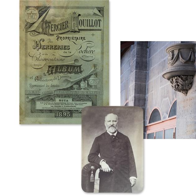 Couverture du catalogue 1895 et Ancien propriétaire M. Fouillot.