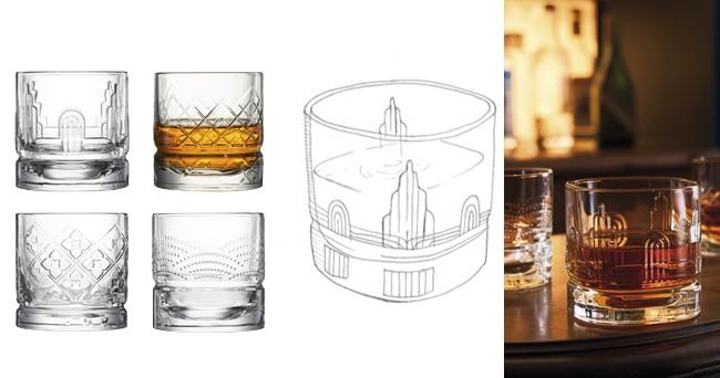 Gobelets whisky assortis, design Studio La Racine