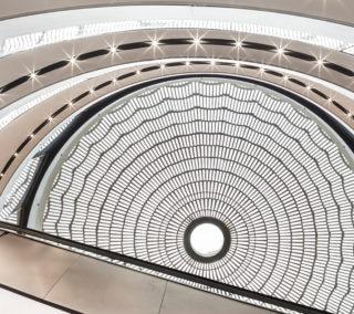 Lingots de verre pour coupole de la Grande Epicerie-Paris 16e©SergioGRAZIA-LA_ROCHERE