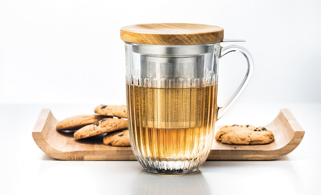 Infuseur Thé Mug Ouessant, instant gourmand